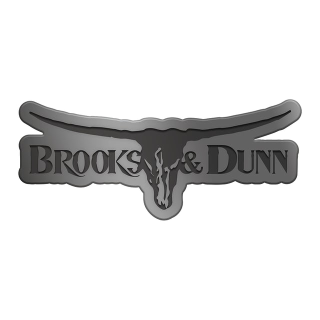 Kix Brooks Logo Steerhead Metal Pin
