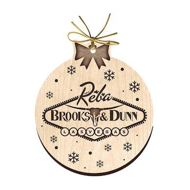 Kix Brooks Vegas Wood Ornament