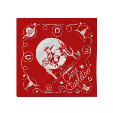 Chris Stapleton Red Bandana