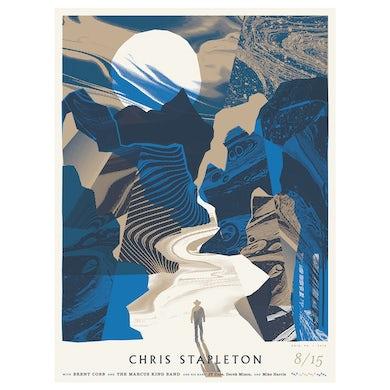 Chris Stapleton Show Poster – Erie, PA 8/15/19