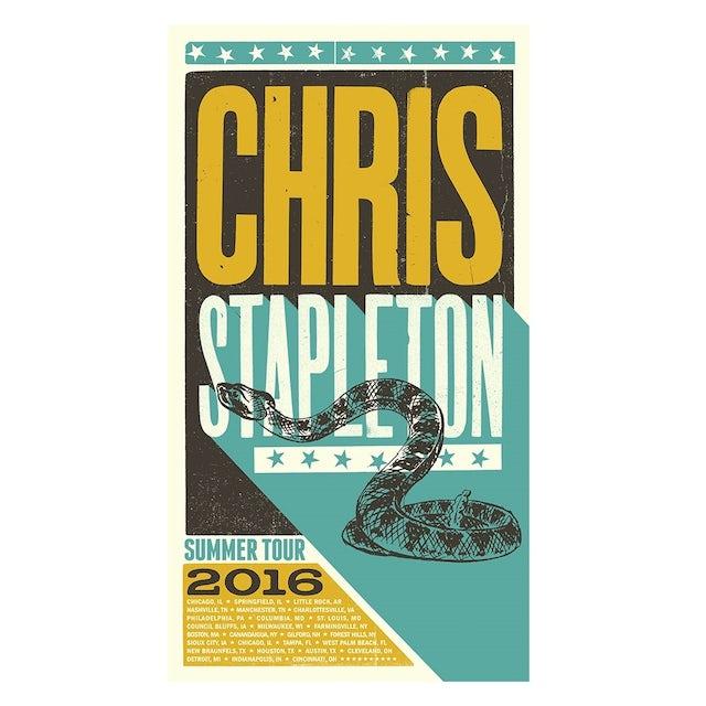 Chris Stapleton 2016 Tour Poster