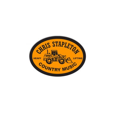 Chris Stapleton Tractor Sticker