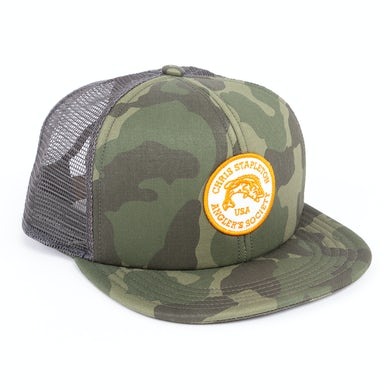 Chris Stapleton The Hauler Trucker Cap in Green Camo