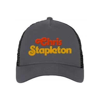 Chris Stapleton Script Mesh Trucker Hat