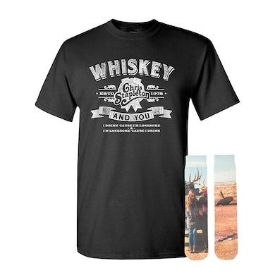 Chris Stapleton Whiskey & You Tee + Traveller Socks Bundle