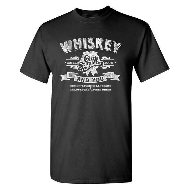 Chris Stapleton T Shirt | The Whiskey and You