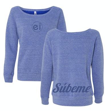 Enrique Iglesias   Súbeme Ladies Sweatshirt
