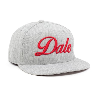 Pitbull Dale Hat - Grey and Red