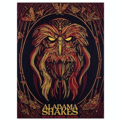 Alabama Shakes Show Poster - Taos, NM 8/6/2016