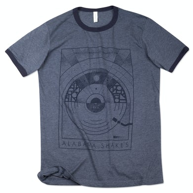 Alabama Shakes Circles Geometry T-Shirt