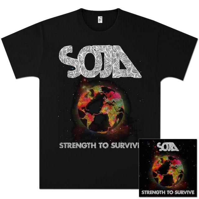 Soja Strength to Survive Album + T-Shirt Bundle