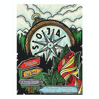 Soja 11/3/18 McDonald Theatre / Eugene, OR  Poster