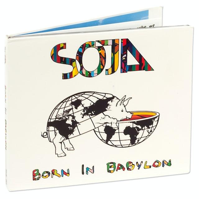 Soja Born In Babylon CD