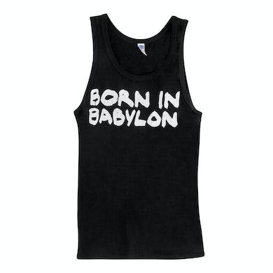 Soja Men's Born In Babylon Tank - Black