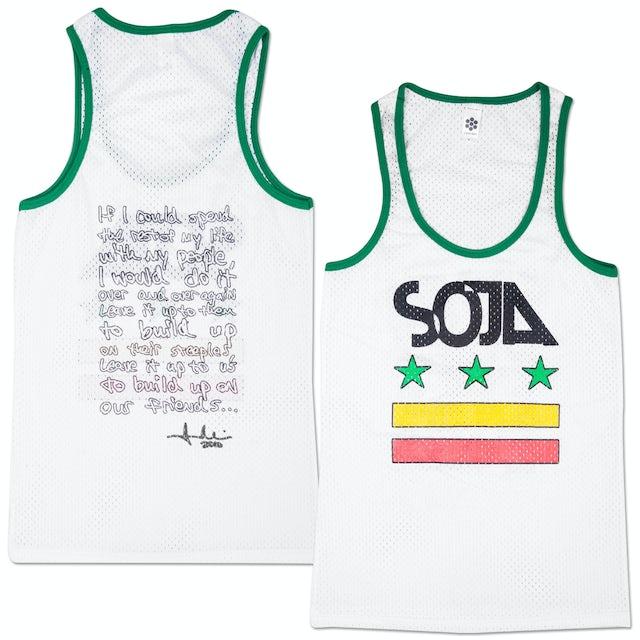 Soja Stars & Bars Ladies Cut Tank