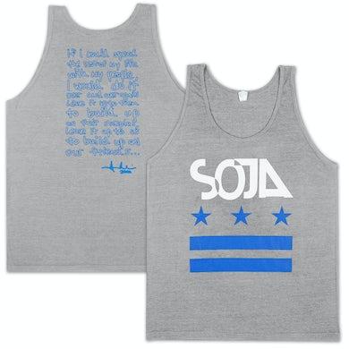 SOJA - Stars & stripes Tri-Grey Tank
