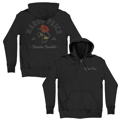 Margo Price Barb Wire Rose Hoodie