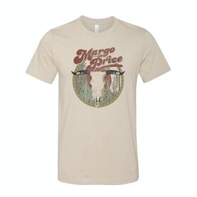 Margo Price Desert Skull Cream T-Shirt