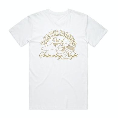 Bleachers Take the Sadness Out of Saturday Night White Shirt