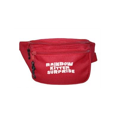 Rainbow Kitten Surprise Fanny Pack (Red)