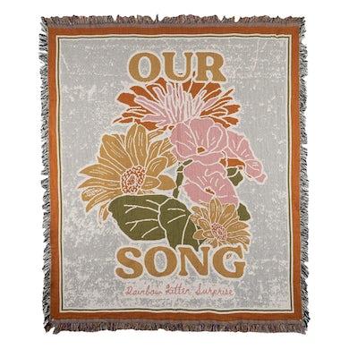 Rainbow Kitten Surprise Our Song Woven Blanket