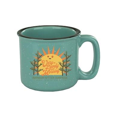 Rainbow Kitten Surprise Very Lovely Morning Ceramic Mug