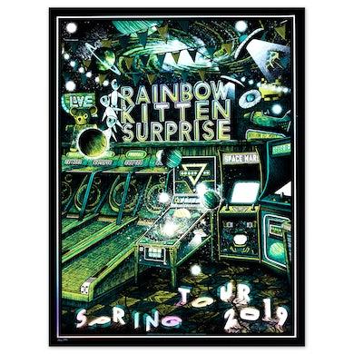 Rainbow Kitten Surprise 2019 Tour Poster