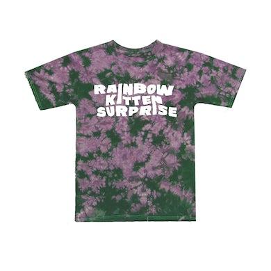 Rainbow Kitten Surprise Purple Tie Dye