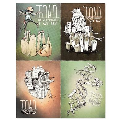 Toad The Wet Sprocket LP Art, Post Card Set (Vinyl)