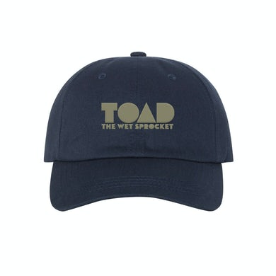 Toad The Wet Sprocket TOAD Dad Hat (Navy)