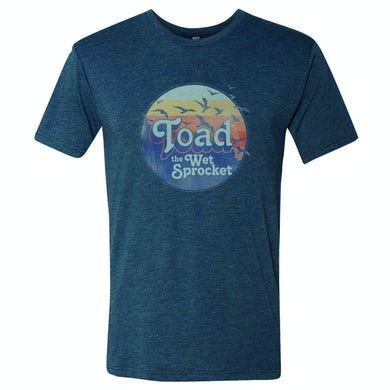 Toad The Wet Sprocket Sunset Logo T-Shirt