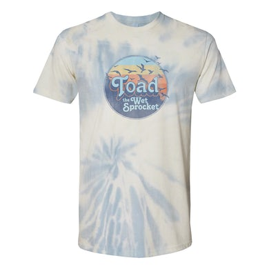 Toad The Wet Sprocket Sunset Tie Dye Tee