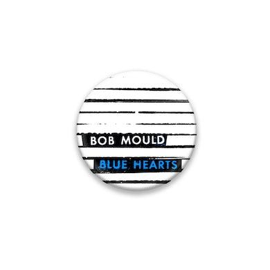 Bob Mould Blue Hearts Button #1