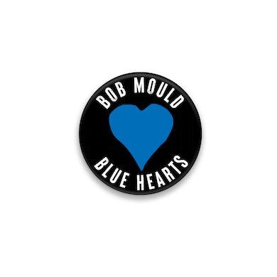 Bob Mould Blue Hearts Button #2