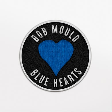 Bob Mould Blue Hearts Iron on Patch