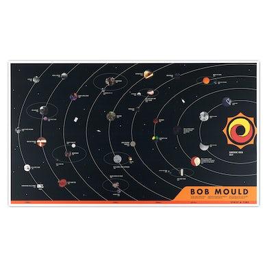 Bob Mould 40th Anniversary Solar System Poster