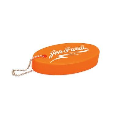 Jon Pardi Orange Float Keychain