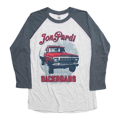 Jon Pardi Backroads Baseball Tee