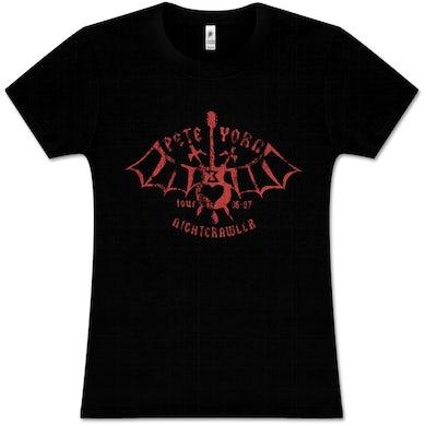 Pete Yorn Bat Guitar Women's T-Shirt