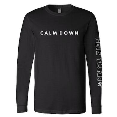 Pete Yorn Calm Down Long Sleeve T-Shirt