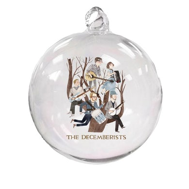 The Decemberists in a Pear Tree Ornament