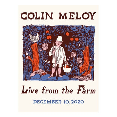 The Decemberists Colin Meloy Live From The Farm Poster