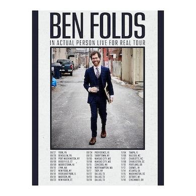 Ben Folds 2021 Tour Poster