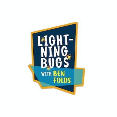 Ben Folds Lightening Bugs Die Cut Sticker