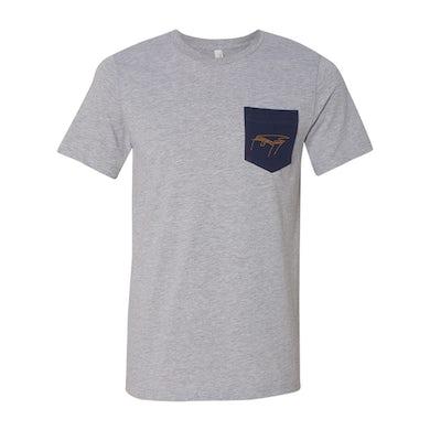 Ben Folds Piano Sketch Pocket T-shirt
