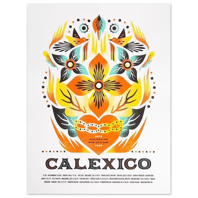 Calexico 2019 Australian Tour Poster