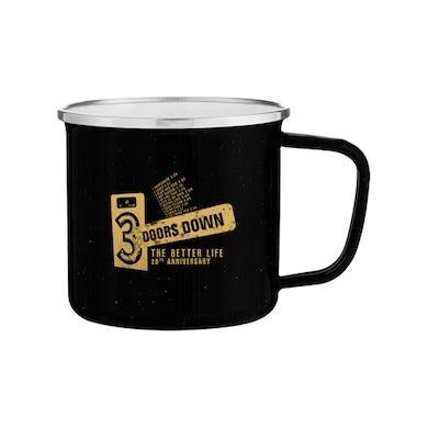 3 Doors Down Enamel Mug