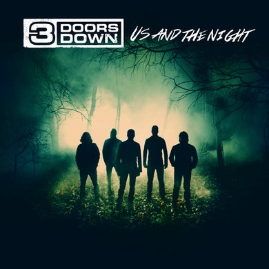 3 Doors Down Vinyl LP Us and the Night
