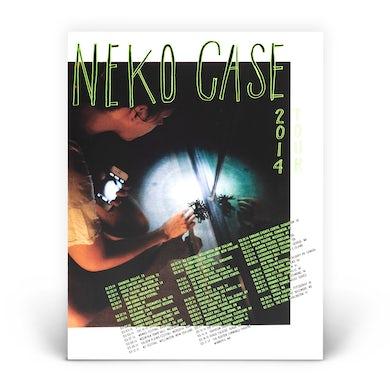 Neko Case 2014 Spider Poster