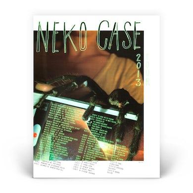 Neko Case 2013 Spider Poster
